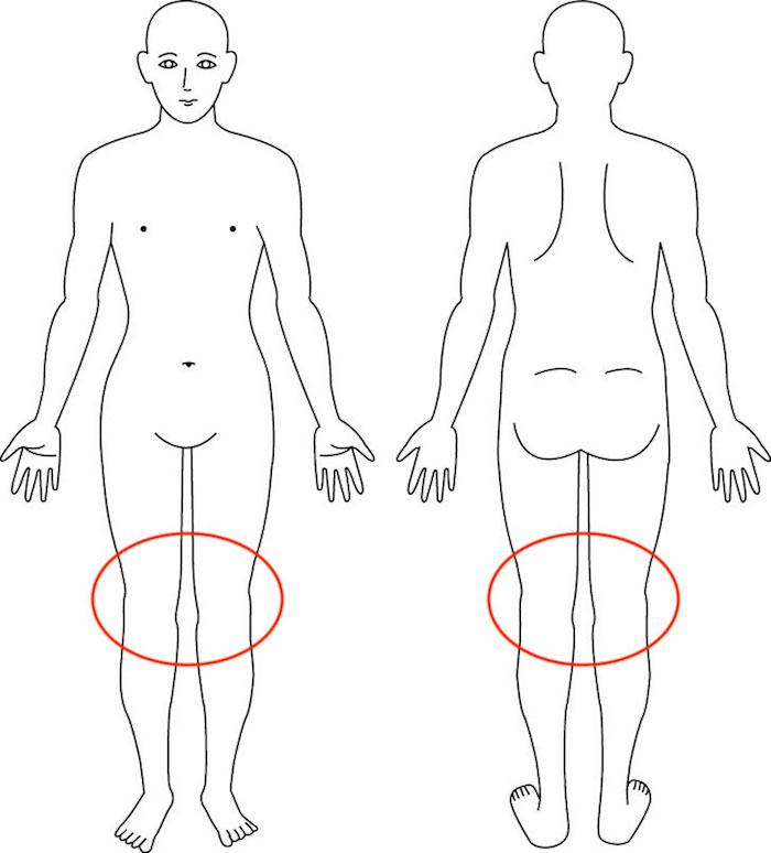 吹田市江坂の産後膝症例